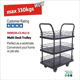 OKM330-C3-HL3-D Multi-Deck Trolley